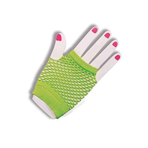 Forum Novelties Green Finglerless Mesh Gloves