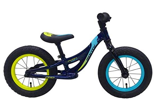 Monty Kids Push Bike 12 Azul - Amarillo
