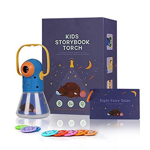 Matteobenni Kids Multifunctional Story Projector, Night Lights...