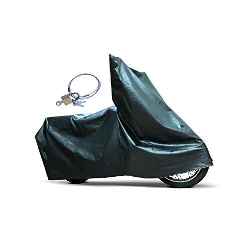 Capa Para Cobrir Moto Comix Térmica Impermeável c. Veste Motos Com Até 2,26 A 2,45 Metros De Comprimento