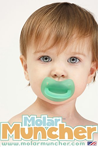 Molar Muncher Infant Baby Teether Non Toxic Silicone Teether