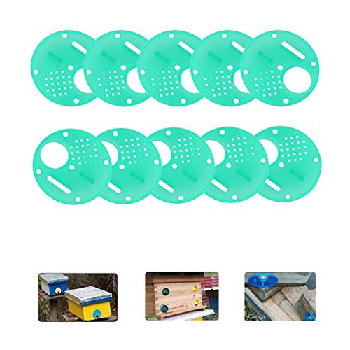 Shirt Luv 20pc Plastic Bee Nest Door/Entrance Disc/Bee Hive Nuc Box Entrance Gate Tool Kitchen Dining Bar Accessories
