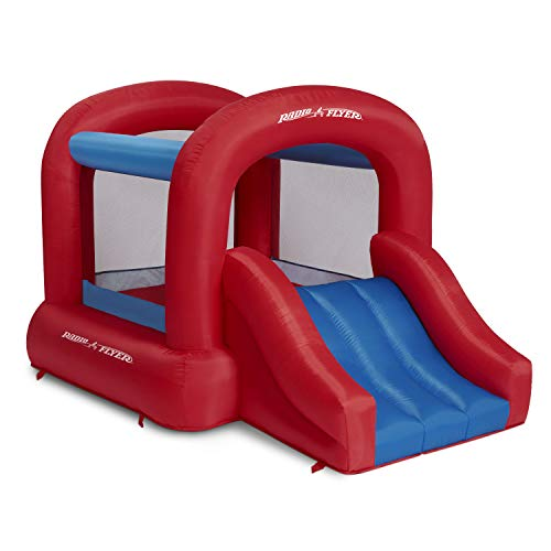 Radio Flyer Backyard Bouncer JR, Bounce House, Inflatable Jumper with Air Blower