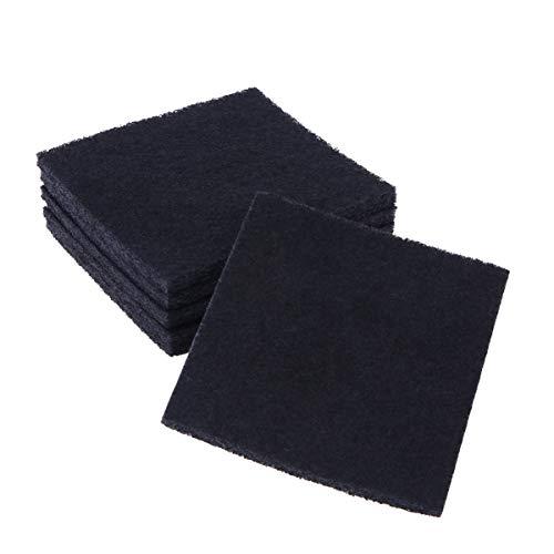 Vicase - Filtro de repuesto de arena para gatos, filtro medidor de arena para gatos, de carbono, para arena con tapa y control de olores de bandeja para gatos.