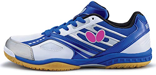 Butterfly 8090B075 Lezoline Mach Table Tennis Shoes, 1 Pair of Shoes