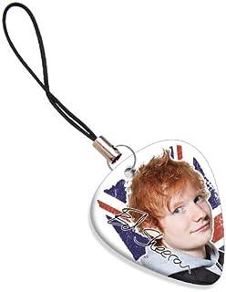 Ed Sheeran ( Design 2 ) Guitarra Pick Mobile Bag Zip Charm ( Flag Design )