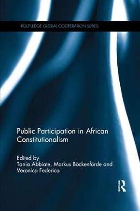 Public Participation in African Constitutionalism