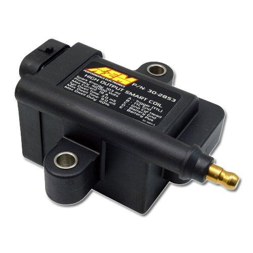 Preisvergleich Produktbild AEM 30-2853 High Output IGBT Induktiv -Schlau- Spule,  Liefern bis 103 mJ,  Schwarz