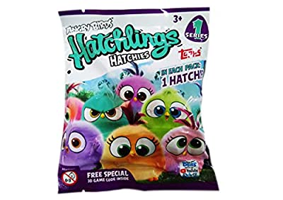 Angry Birds Topps HATCHLINGS HATCHIES (One Pack)