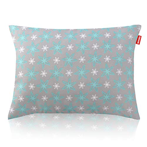 Toddler Pillow for Sleeping, Hypoallergenic Ultra Soft Kids Pillows for Sleeping, 14 x 19 inch Perfect for Travel, Toddler Cot, Baby Crib, No Pillowcase Needed Machine Washable