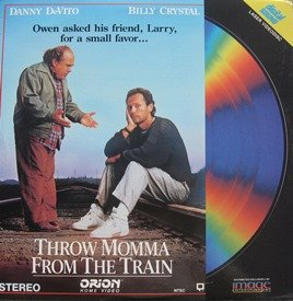 Throw Momma From The Train LASERDISC (NOT A DVD!!!) (Full Screen Version)