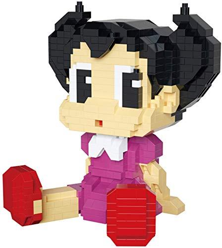 RSVT Micro Diamond Building Block para Niños Figura De Dibujos Animados Figura 3D Modelo Toys Regalo,B