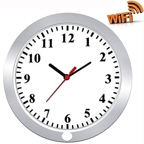 Hidden Camera in Wall Clock TenGong Spy Wall Clock WiFi Hidden Cameras...