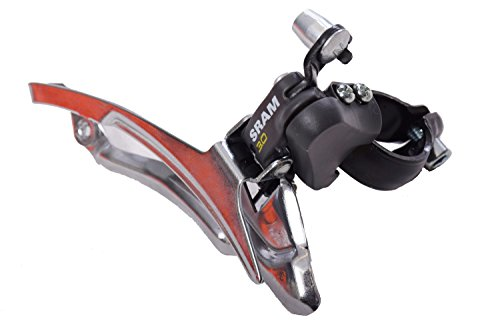 SRAM 3.0 MTB SPORTS OR ANY BIKE FRONT GEAR MECH DERAILLEUR BOTTOM PULL 28.6mm SUITABLE FOR MTB, MOUNTAIN BIKES SPORTS OR ANY BIKE NOS