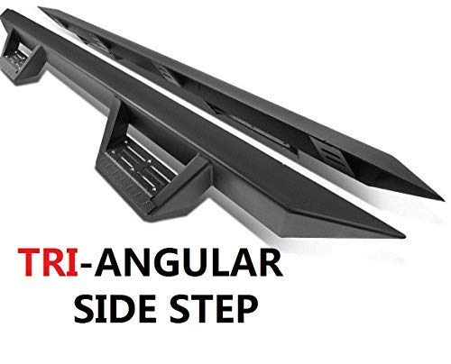 Replacement for 2010-2018 Dodge Ram 1500 2500 3500 Crew Cab Triangle Running Boards