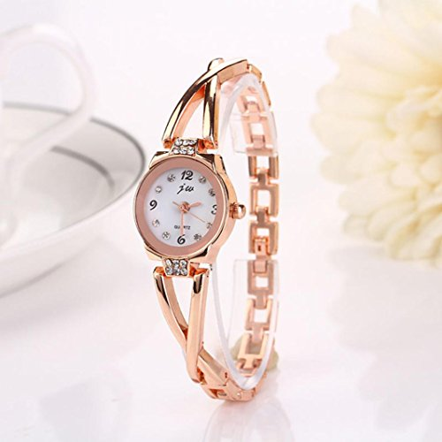 HUIHUI Uhren Damen, Geflochten Armbanduhren Günstige Uhren Wasserdicht Casual Analoge Edelstahl Quarz Armband Armbanduhr Coole Uhren Lederarmband Mädchen Frau Uhr (A)