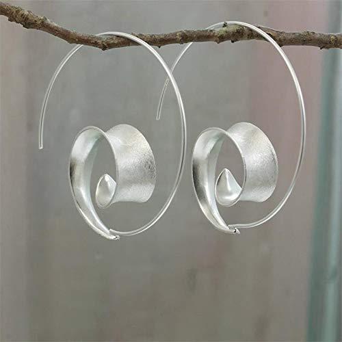 Earring Simple Silver Color Dandelion Dangle Earrings For Women Engagement Wedding Jewelry Statement Drop Earring 016-Silver