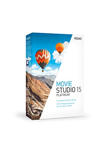 VEGAS Movie Studio 15 Platinum|15|1|0|Microsoft Windows 7/8/10, 64 bits|Disque