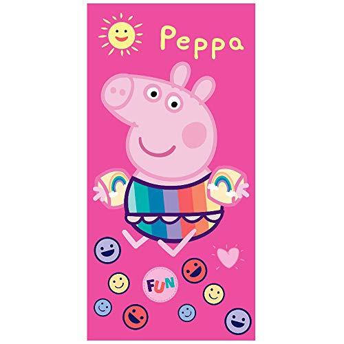 Toalla Peppa Pig Fun Microfibra Piscina Playa Baño