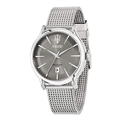 Orologio da uomo, Collezione Epoca, movimento al quarzo, tempo e data, in acciaio - R8853118002