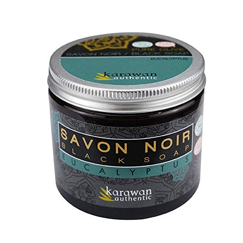 Karawan - Savon Noir Eucalyptus 200Ml - Lot De 2 - Vendu Par Lot