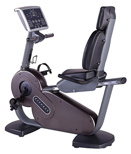 Energie Fitness Imported Commercial Recumbent Exercise Bike FT-6806R with 1 Year Warranty Best Exercise Bike for Home Gym