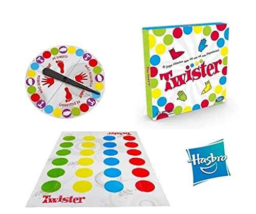 Jogo Twister Hasbro Original Novo Hasbro 98831