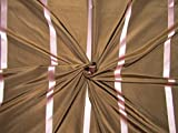 Puresilks TAFS165 Stoff, 100% Seide, TAFT mit rosa
