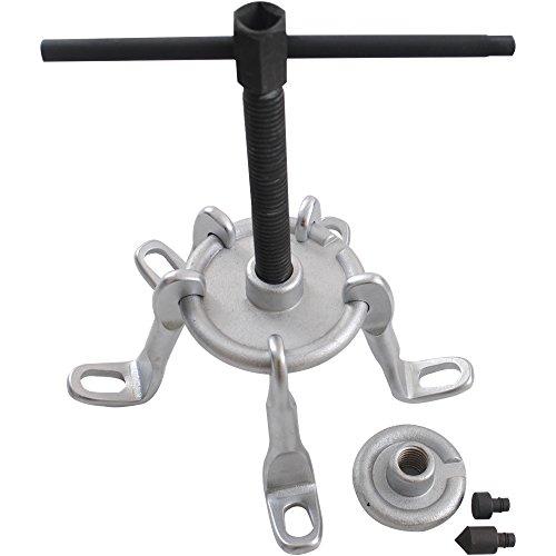 CCLIFE Radnabenabzieher Bremstrommelabzieher Radnaben Antriebswellen Abzieher Ausdrücker Werkzeug 5-armig