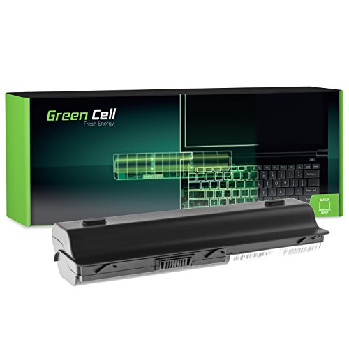 Green Cell® Extended Serie MU06 Batería para HP 250 255 2000 635 650 655 Pavilion G4 G6 G62 G7 Compaq Presario CQ56 CQ62 Ordenador (12 Celdas 8800mAh 10.8V Negro)