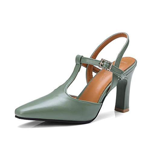 WMZQW Zapatos de Tacón Alto para Mujer Elegantes Tacones de Aguja Puntiagudos...