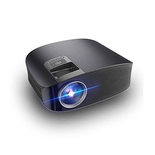 Zyangg-Home HD videoprojector home theater LCD film projecto 150 lumen 1280x768 pixels 3001: 1-4000: 1 contrast LED mobiele thuisbioscoop projector werken met laptop/Blu-ray DVD-speler/PS3/PS4