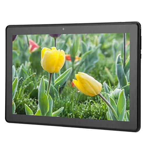 Ccylez Android Tablet PC, 10in IPS 5-point Touchscreen, 8 Core WIFI Tablet, 2GB RAM + 32GB ROM Pad, Dual SIM, 5000Mah Battery, Support 3G/4G Network/Make Calls (Black)