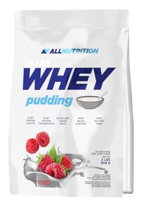 All Nutrition Ultra Whey Pudding Protein Supplement, Strawberry