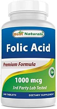 folic acid 1000 mcg