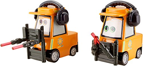 Disney Pixar Cars-Nat MC Michael Honksel-Lugnut and Airport Adventure