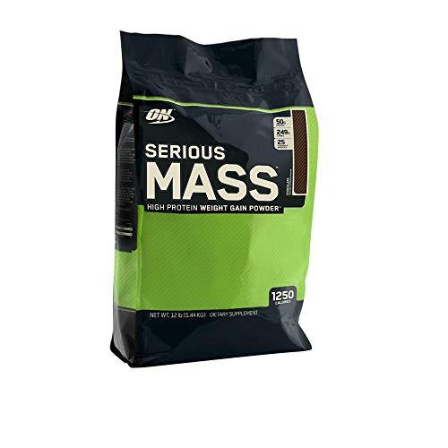 OPTIMUM NUTRITION SERIOUS MASS (5,45 KGS) FRESA