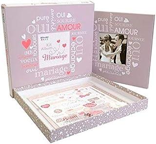 Artemio Kit Album Scrapbooking Mariage 30x30cm