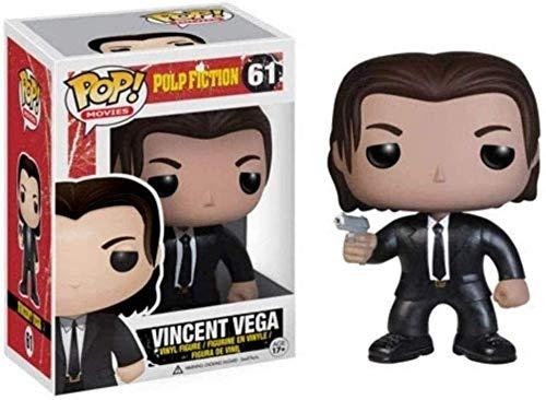WENJZJ Pop! Pulp Fiction Movie # 61 Vincent Vega Figura Coleccionable 1