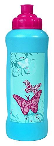 Undercover BUKR9911 Sportflasche, Butterfly, 450 ml