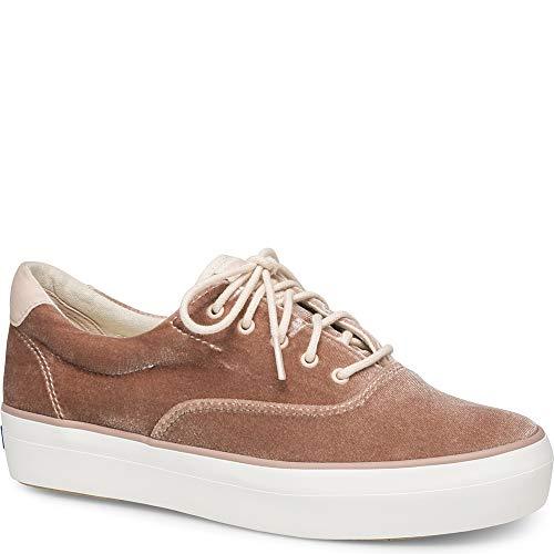 Keds Damen Rise Samt-Sneaker Farbe Name Hellrosa Gr., Pink (It Pink), 40 EU