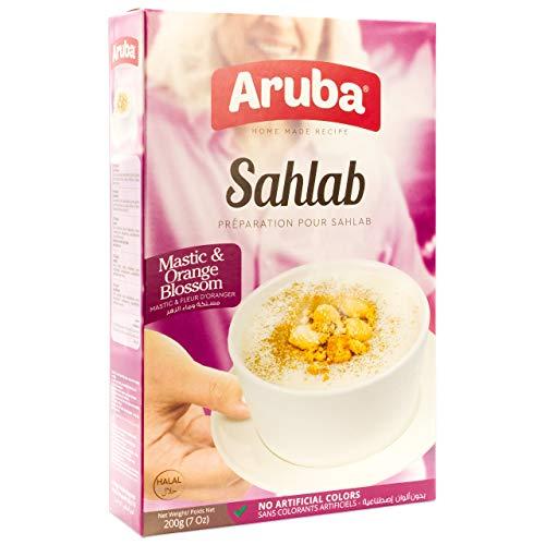 Aruba - Sahlab Sahlep Salep Arabisches Milchgetränk in 200 g Packung (Getränkepulver)