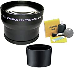Canon Powershot A590IS 2.2X High Definition Super Telephoto Lens (Includes Necessary Lens Adapter & Ring) + Nwv Direct 5 Piece Cleaning Kit