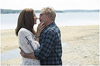 Jessica Jones Janet McTeer as Alisa Jones ready to kiss Callum Keith Rennie as Dr. Malus 8 x 10 Inch Photo
