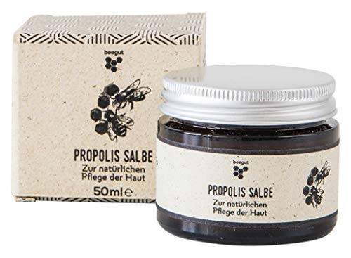 beegut Propolis Salbe für eine natürliche Pflege & Schutz der Haut, hochwertige Propolis Creme,...