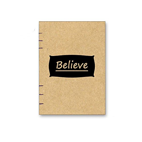 A5 Notebook Handmade / Cream paper without lines #B13
