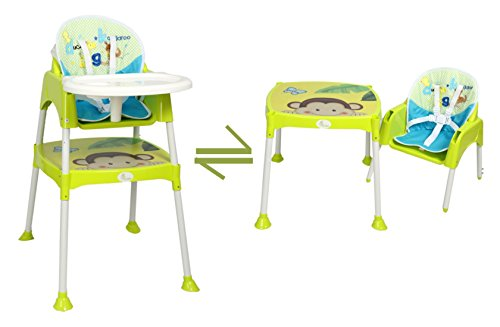 R for Rabbit Cherry Berry - The Convertible Baby High Chair (with cushion)