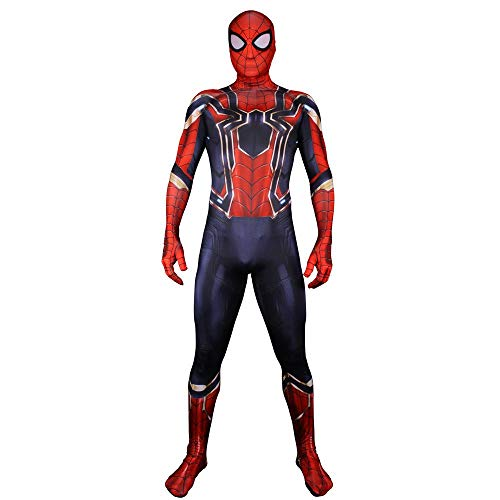 DWYRD Spiderman Adulto Niño Disfraces Cos Costume Halloween Christmas Cosplay Props Fancy Jumpsuit 3D Prin Lycra Medias Vestido De Fiesta Womens-S