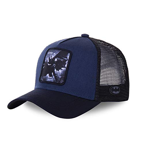 Capslab - Gorra Batman - BAT4 - Azul, U, One Size