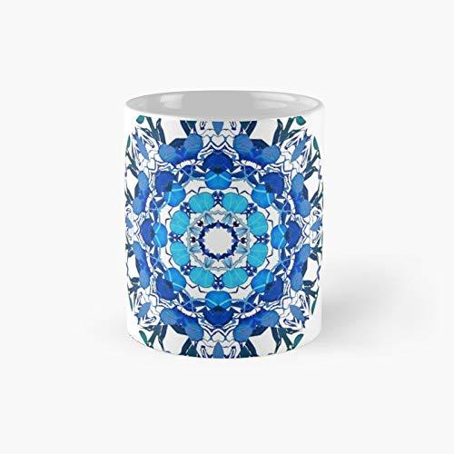 Taza clásica de meditación con diseño de carámbanos | El mejor regalo divertidas tazas de café de 325 ml